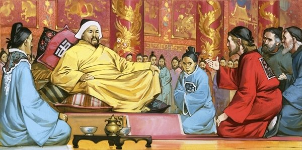 Image result for kublai khan marco polo
